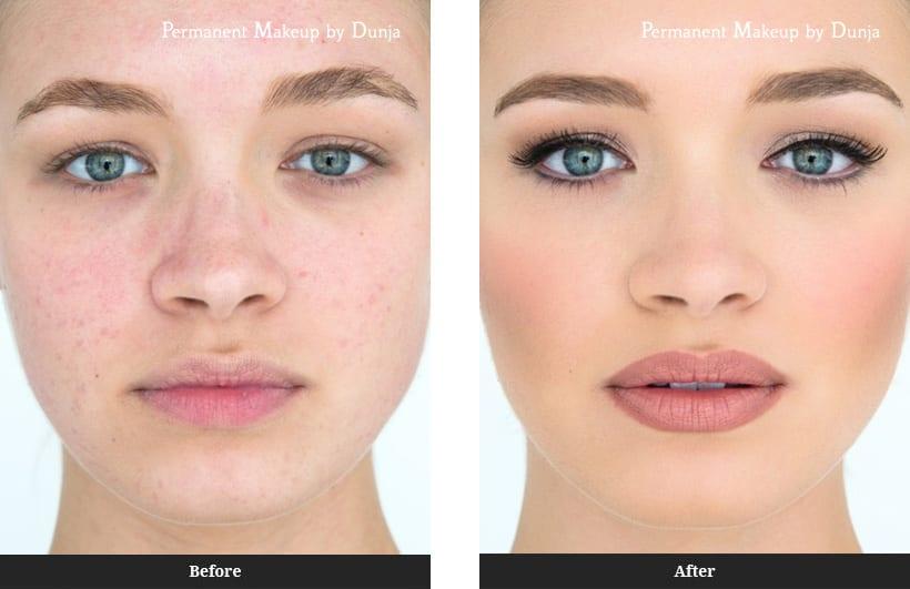 Makeup After Facial 21
