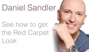 daniel sandler red carpet look