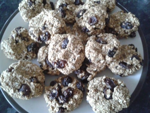 Unclassic Oatmeal Raisin Cookies